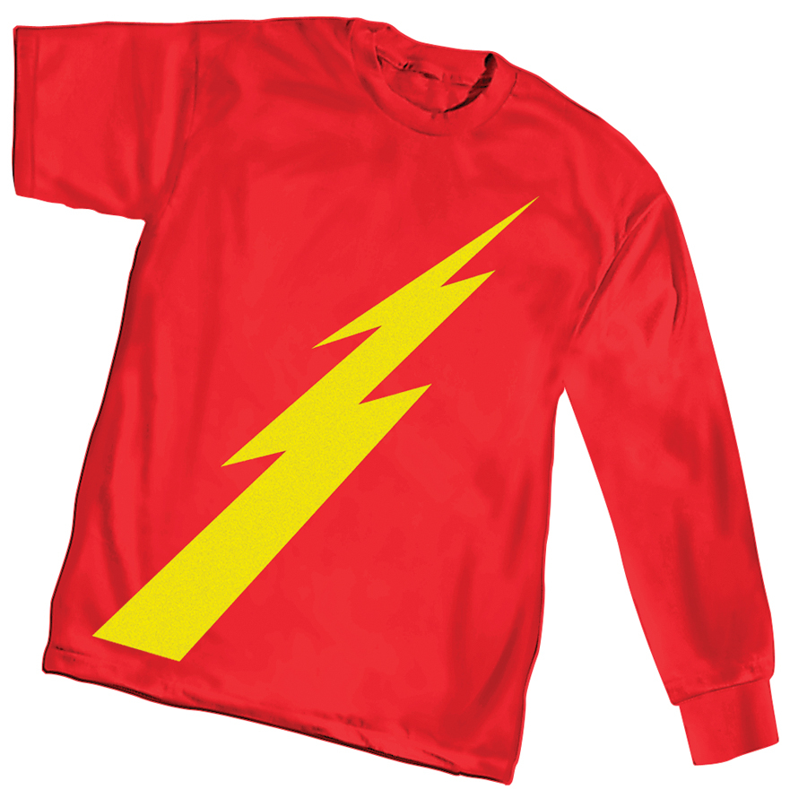 GOLDEN AGE FLASH SYMBOL LONG SLEEVE T/S SM