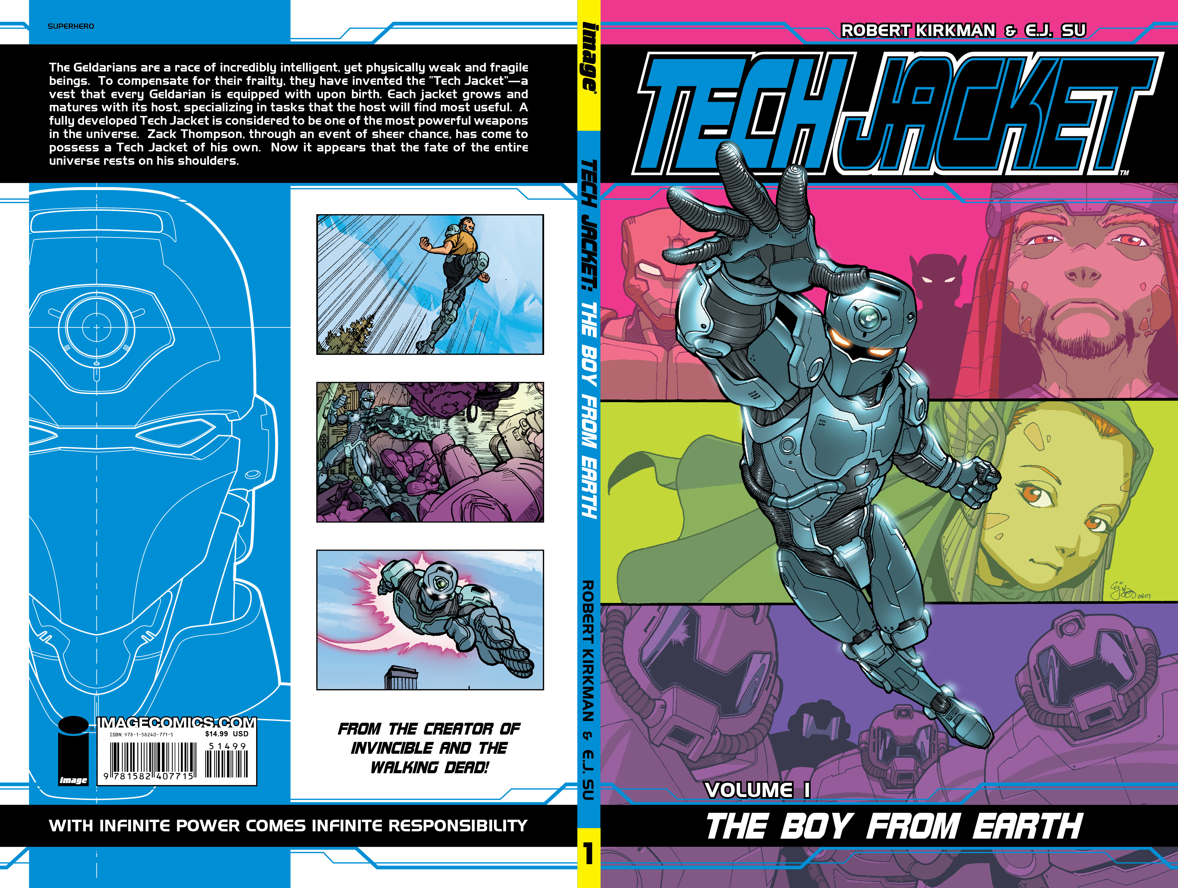 TECH JACKET TP VOL 01 BOY FROM EARTH