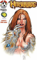 WITCHBLADE #116 WIZARD WORLD LA EXCL VAR