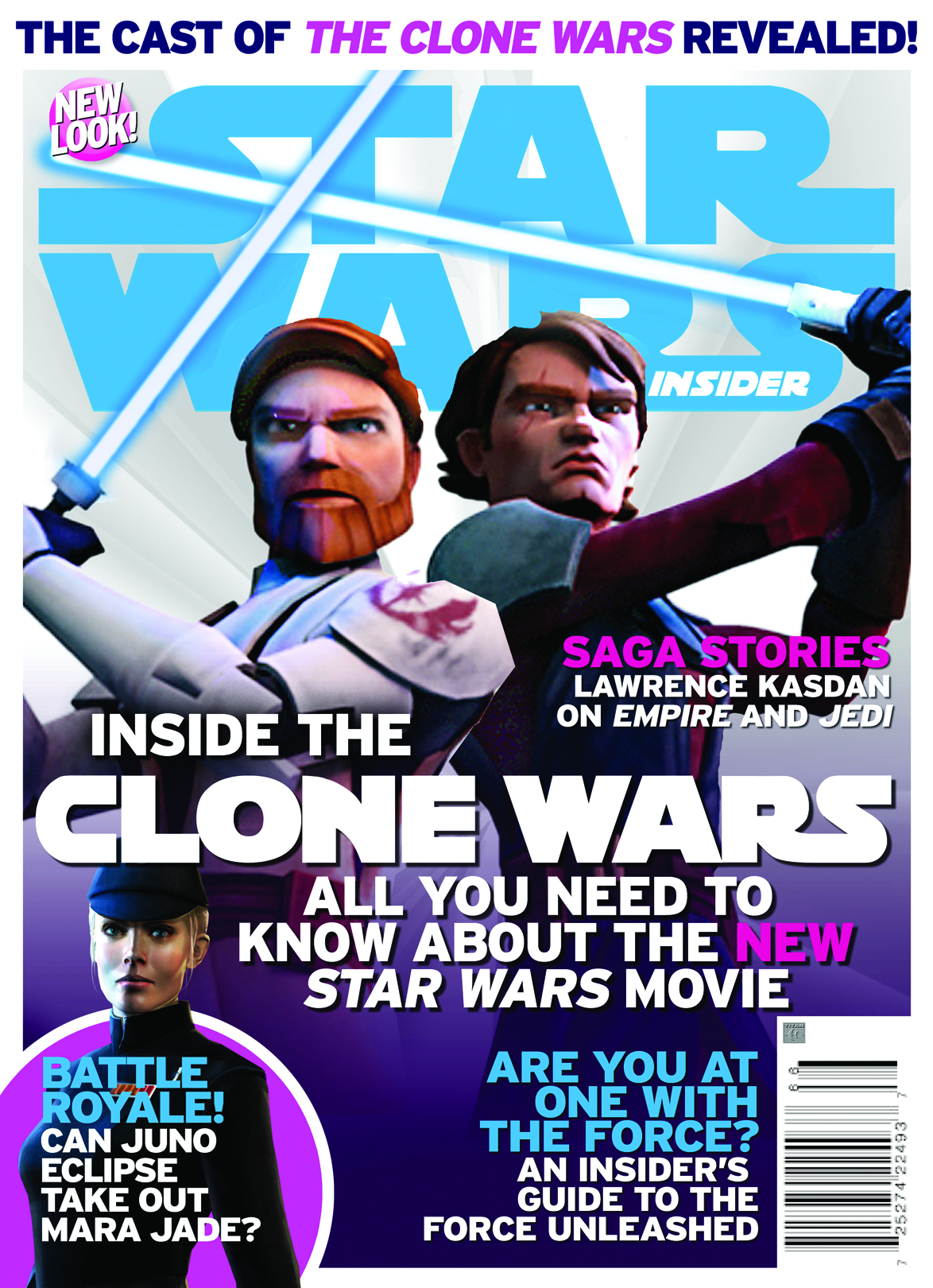 STAR WARS INSIDER #103 NEWSSTAND ED