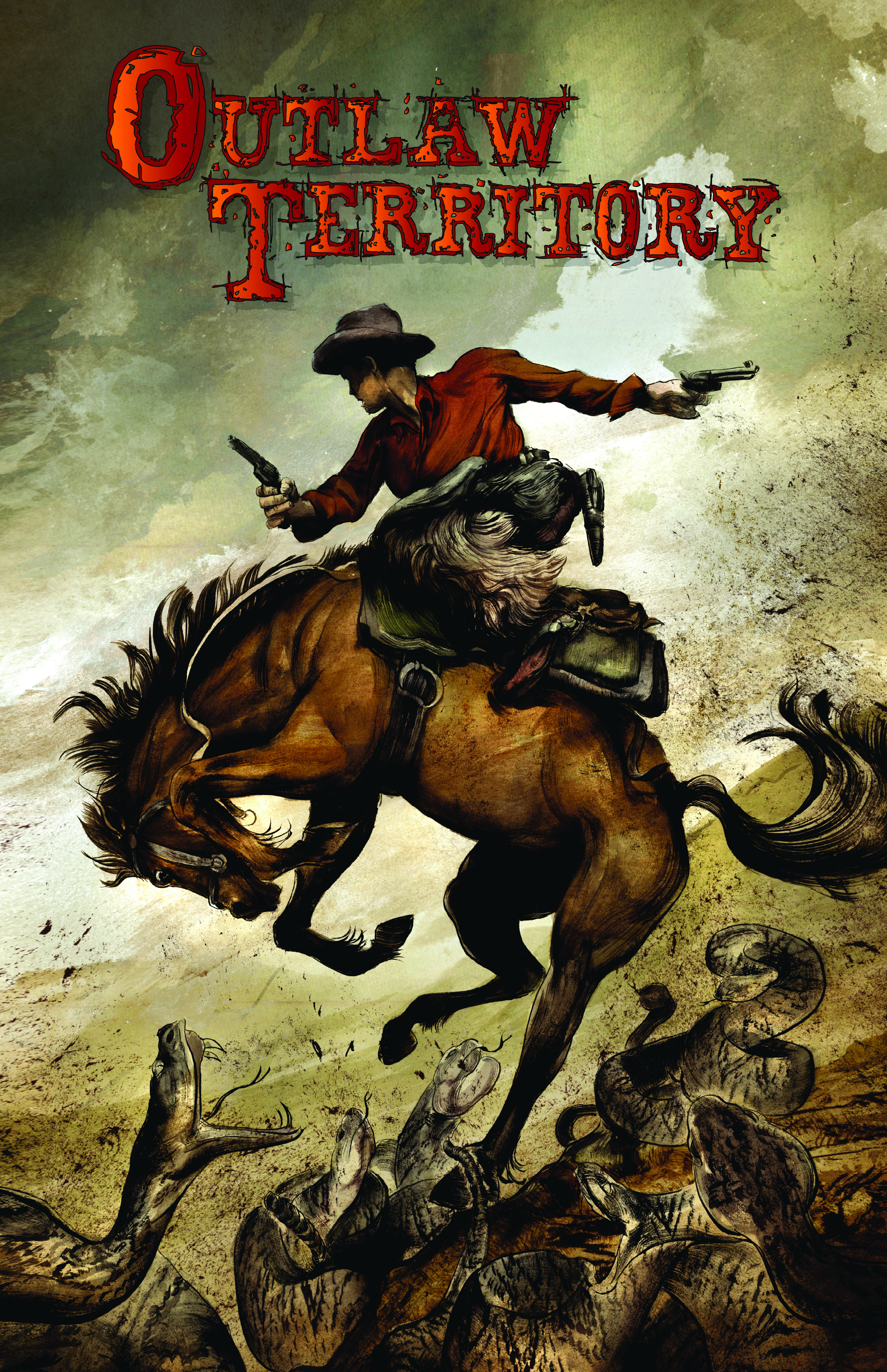 OUTLAW TERRITORY GN VOL 01