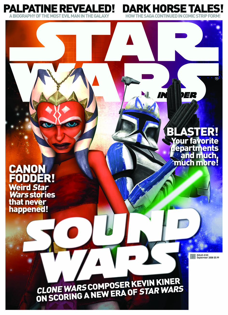 STAR WARS INSIDER #108 NEWSSTAND ED