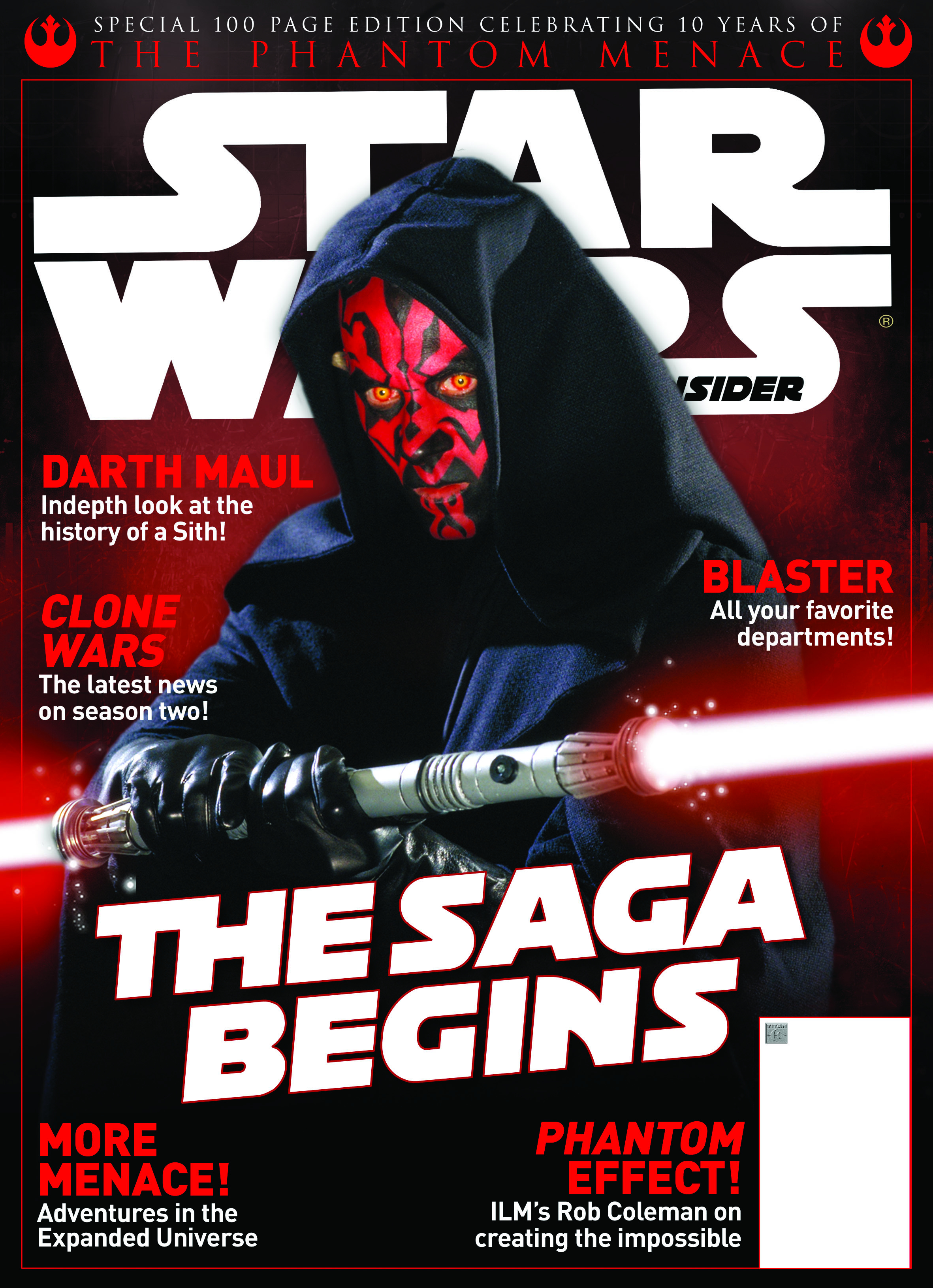 STAR WARS INSIDER #109 SPECIAL NEWSSTAND ED