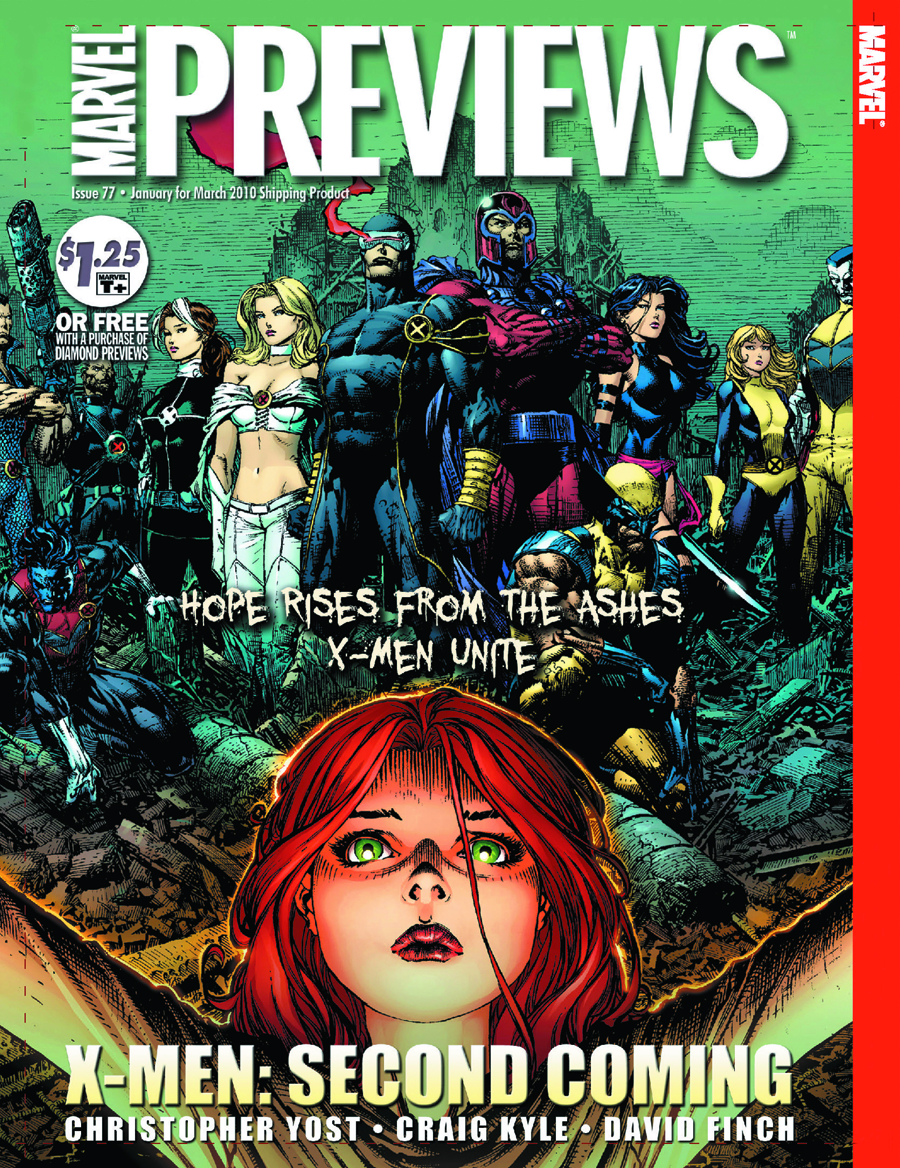 MARVEL PREVIEWS JANUARY 2010 EXTRAS
