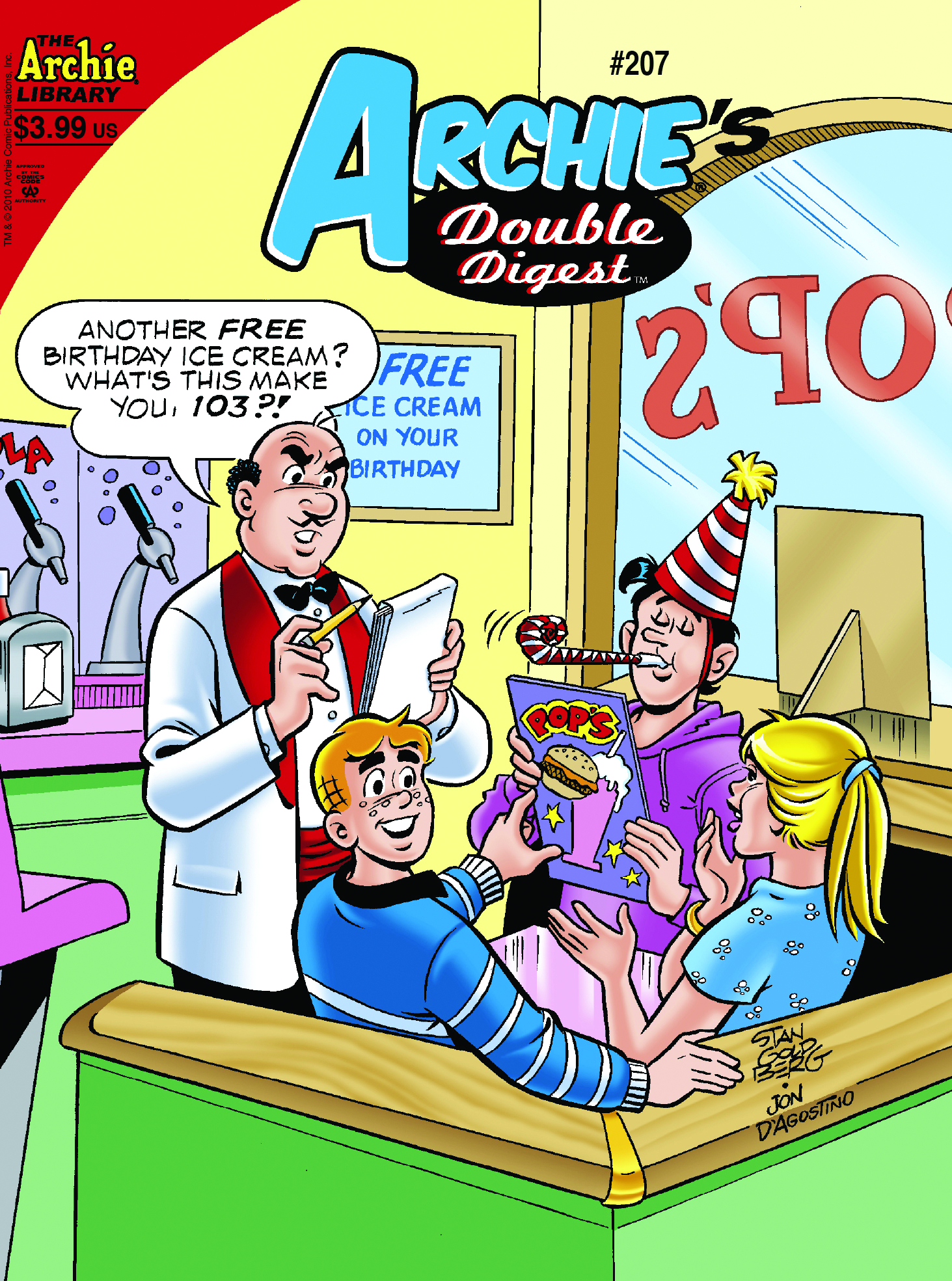 ARCHIE DOUBLE DIGEST #207