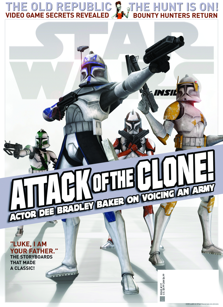 STAR WARS INSIDER #117 NEWSSTAND ED