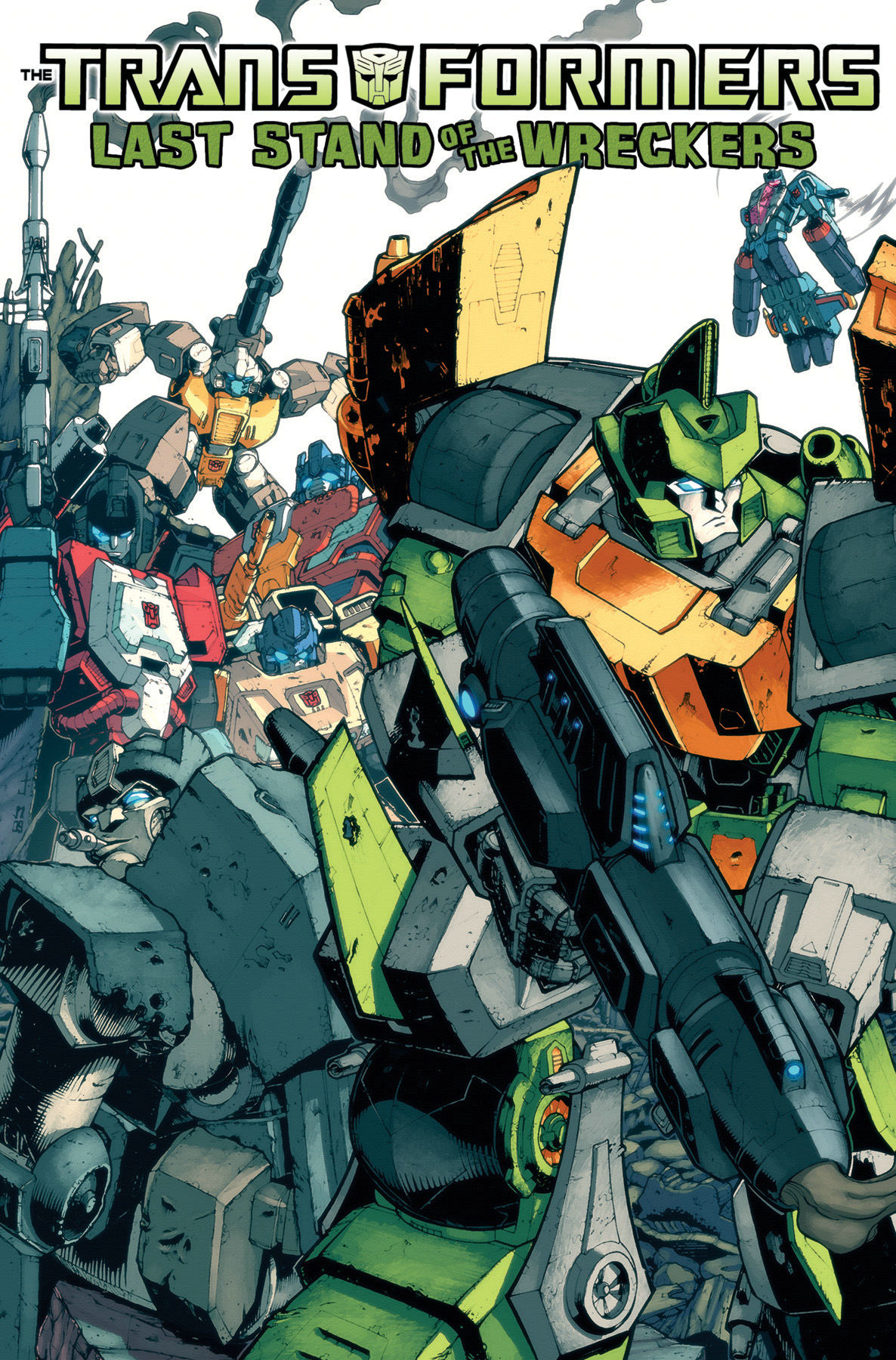 TRANSFORMERS LAST STAND OF THE WRECKERS TP