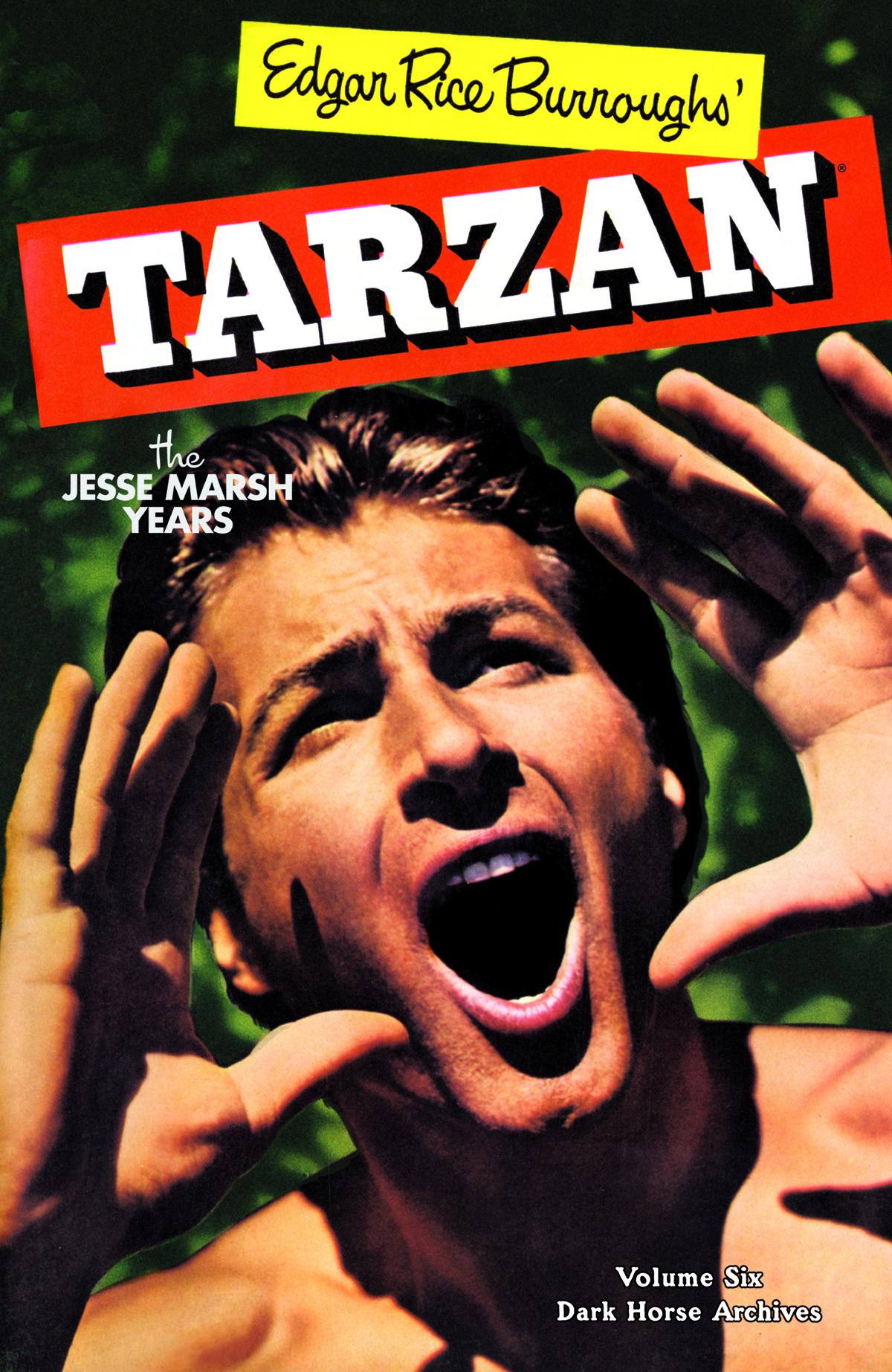 TARZAN THE JESSE MARSH YEARS HC VOL 06