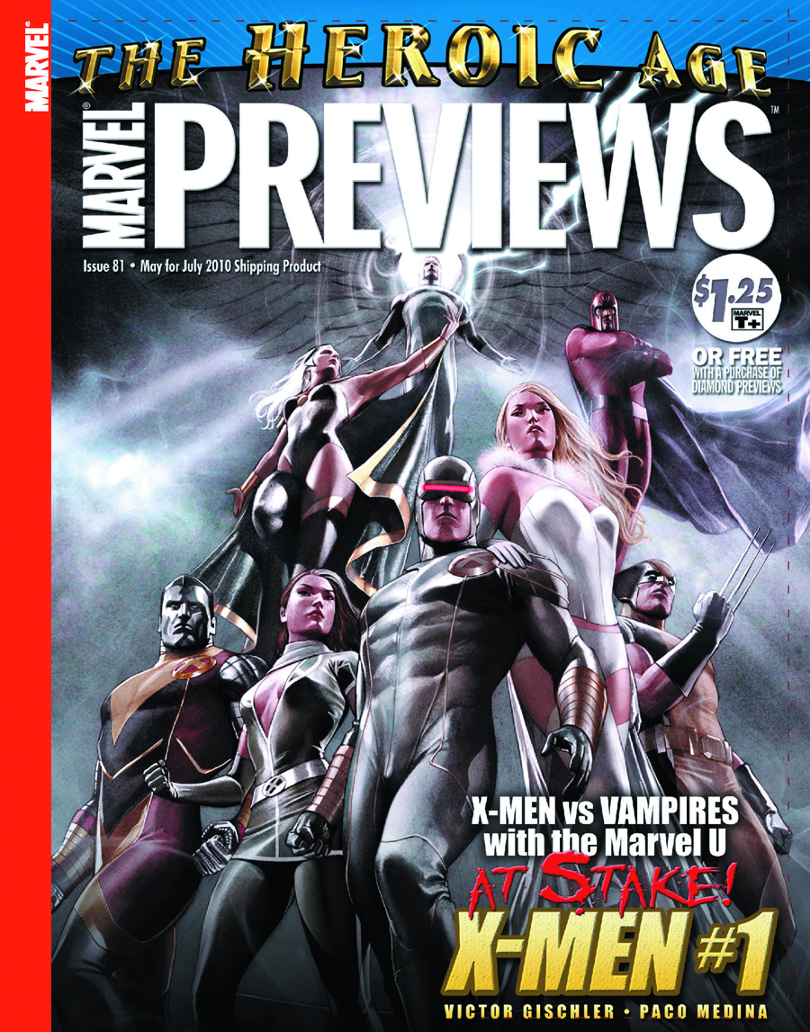 MARVEL PREVIEWS MAY 2010 EXTRAS