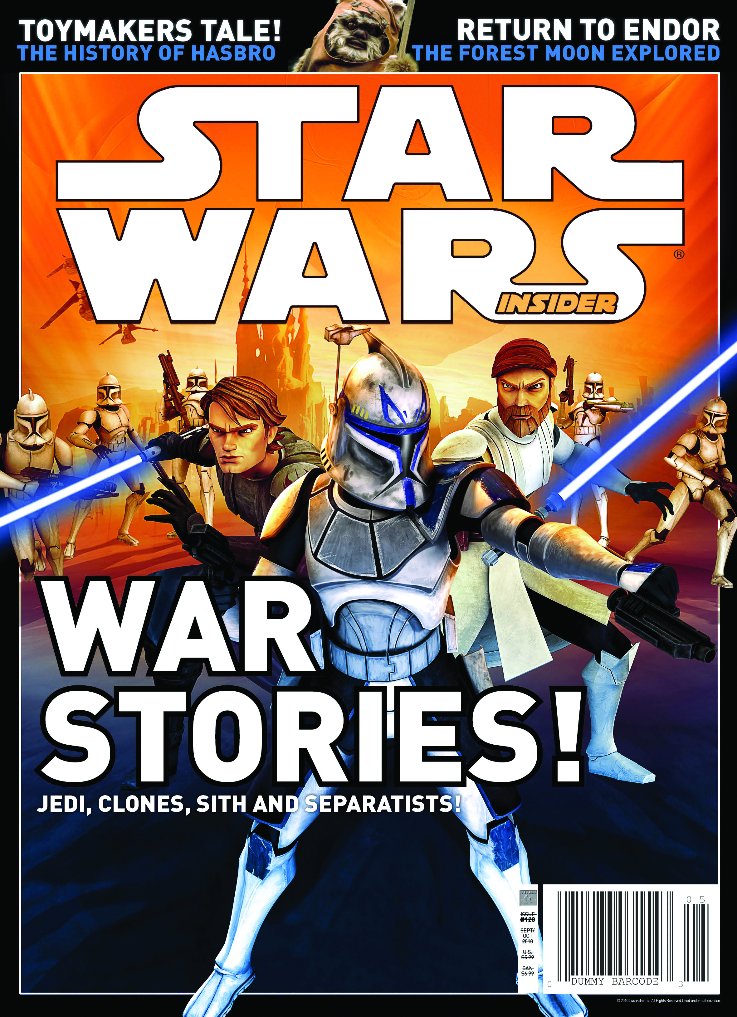 STAR WARS INSIDER #120 NEWSSTAND ED