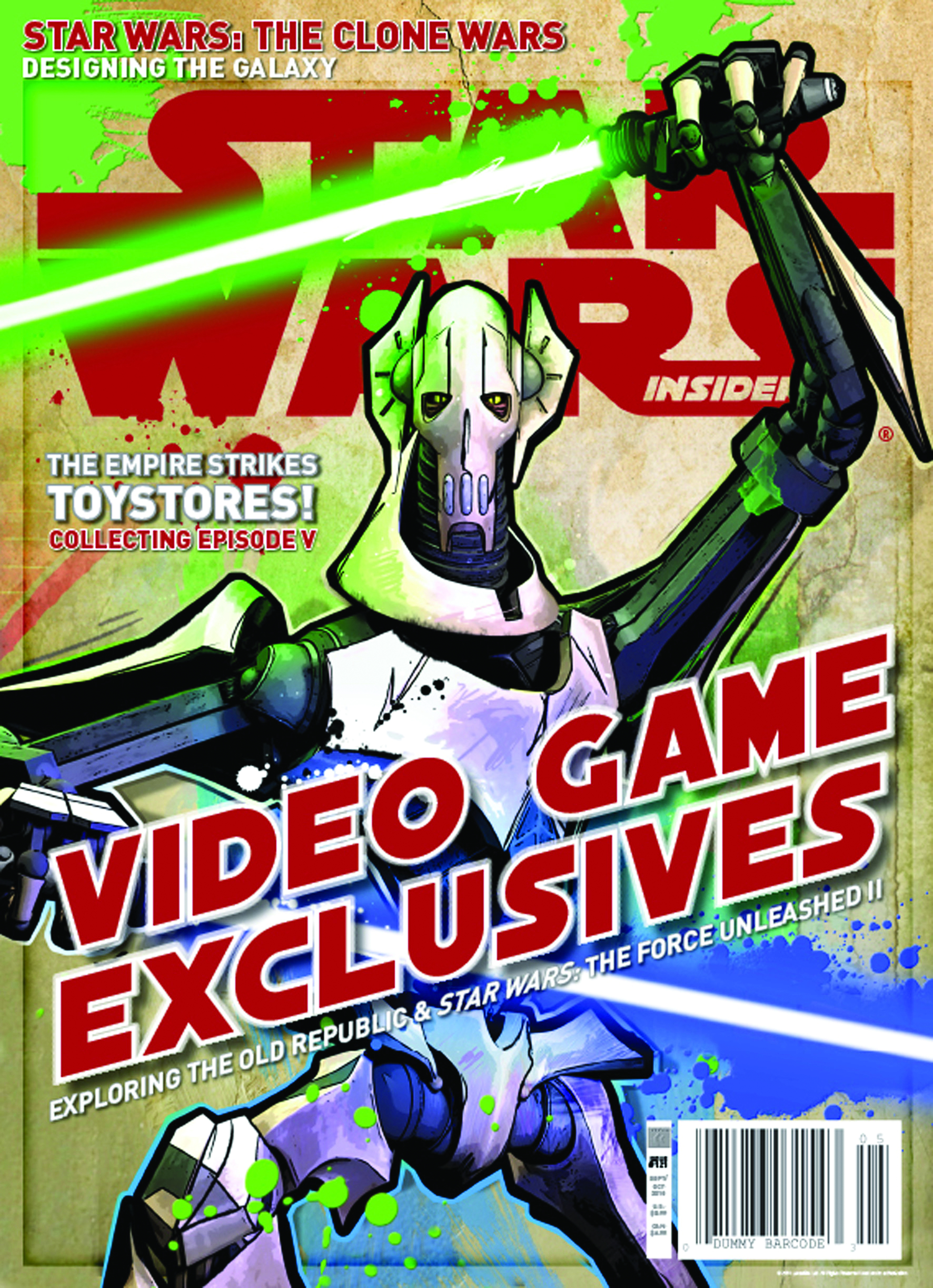 STAR WARS INSIDER #121 NEWSSTAND ED