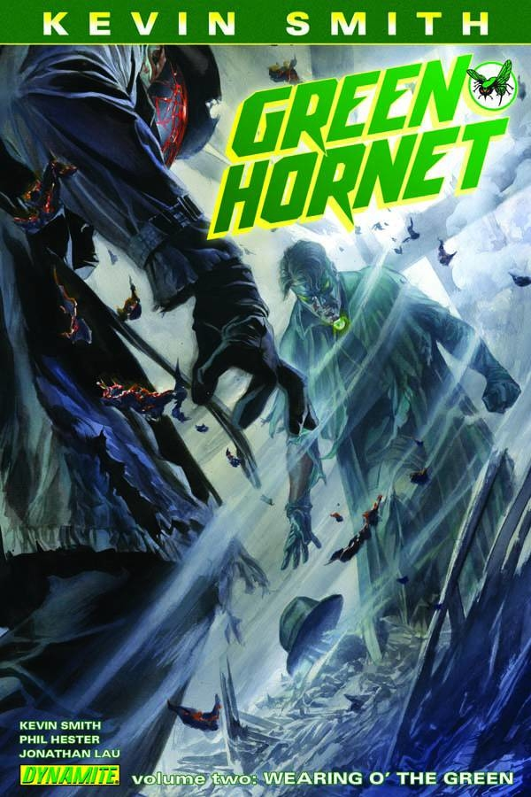 KEVIN SMITH GREEN HORNET HC VOL 02 WEARING GREEN