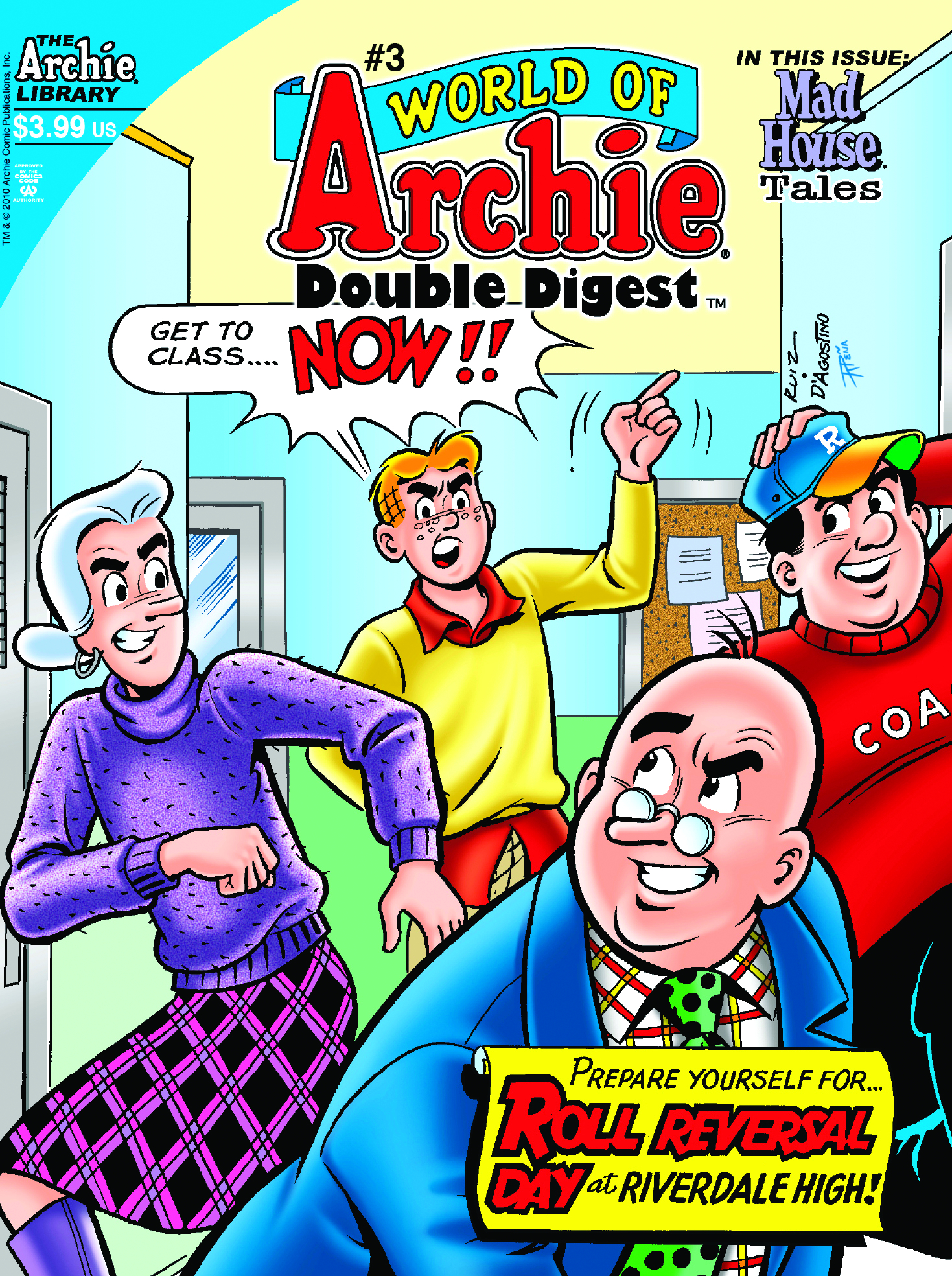 WORLD OF ARCHIE DOUBLE DIGEST #3