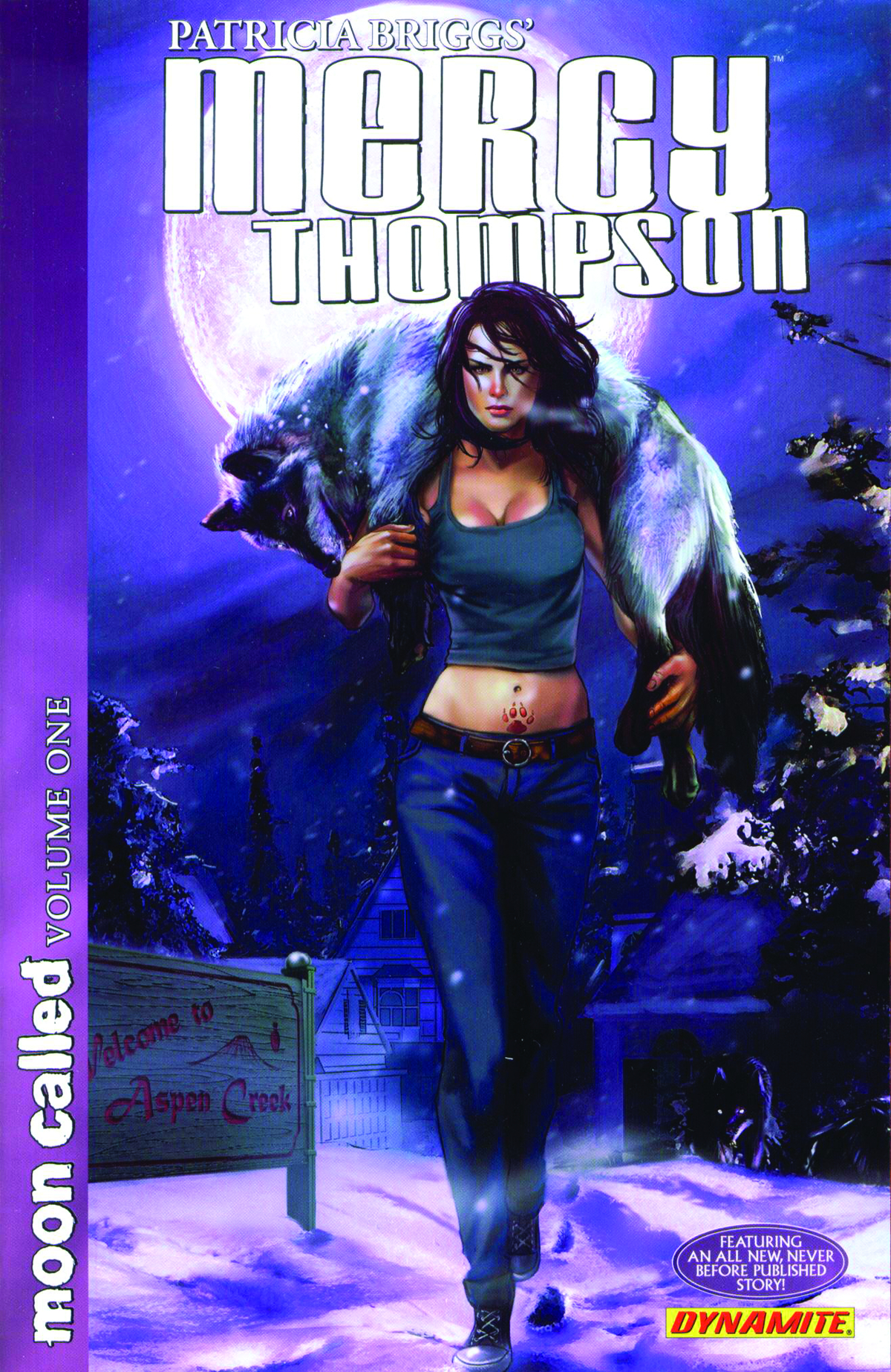 PATRICIA BRIGGS MERCY THOMPSON MOON CALLED TP VOL 01 (JAN111