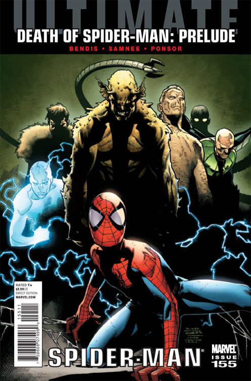 ULTIMATE COMICS SPIDER-MAN #155 DOSM
