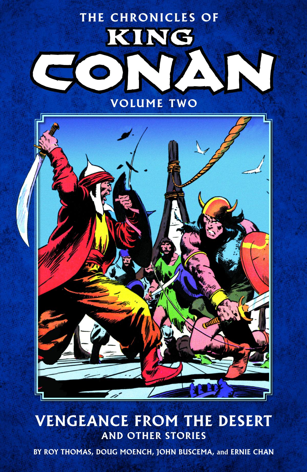 CHRONICLES OF KING CONAN TP VOL 02 VENGEANCE DESERT