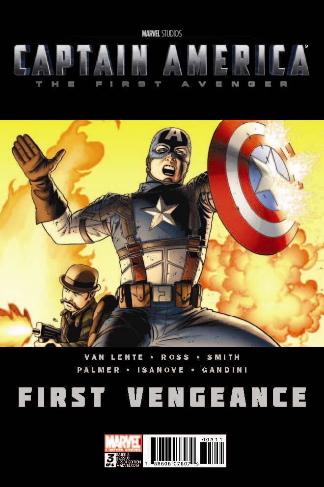 CAPTAIN AMERICA FIRST VENGEANCE #3 (OF 4)