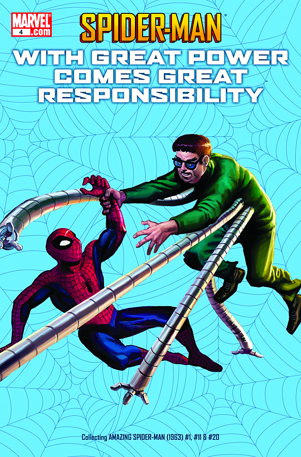 SPIDER-MAN POWER COMES RESPONSIBILITY #4 (OF 7)