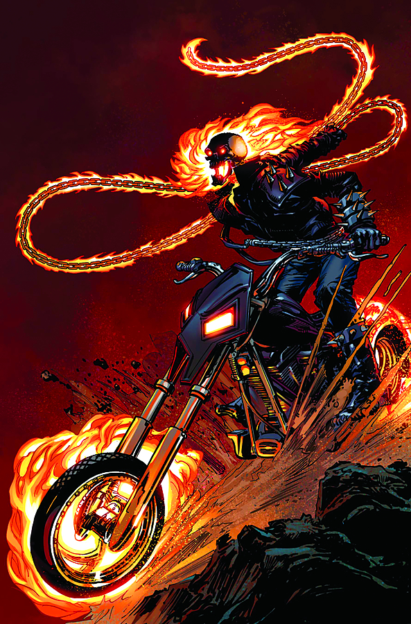 GHOST RIDER #1 NEAL ADAMS VAR FEAR