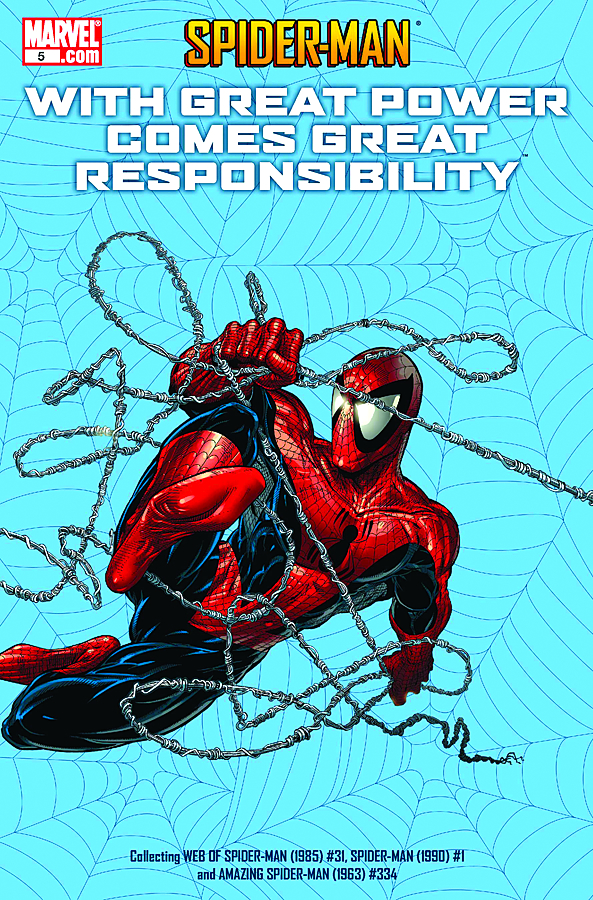 SPIDER-MAN POWER COMES RESPONSIBILITY #5 (OF 7)