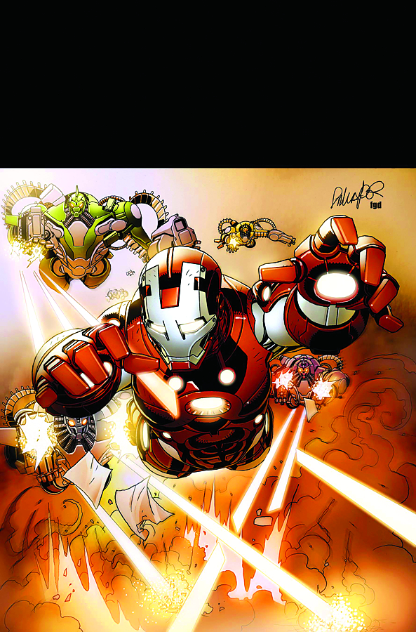 INVINCIBLE IRON MAN #507 FEAR