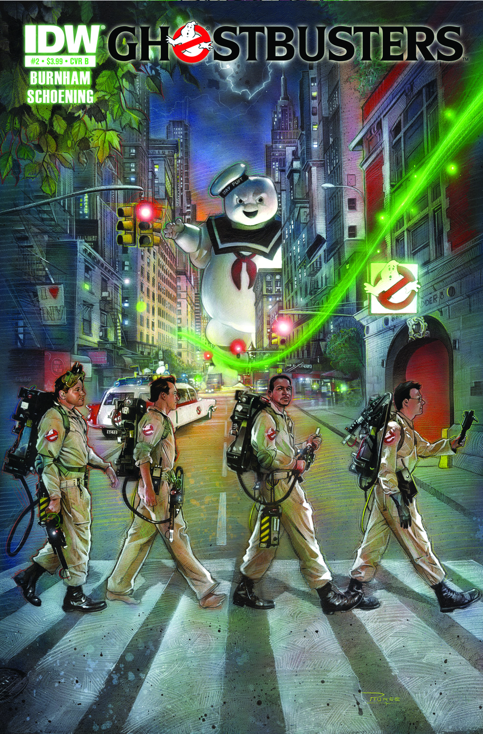 GHOSTBUSTERS ONGOING #2