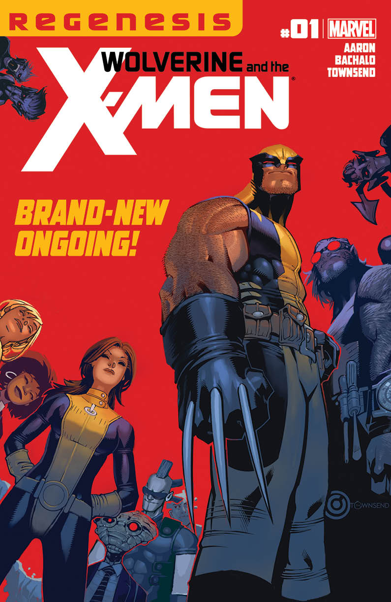 WOLVERINE AND X-MEN #1 XREGG