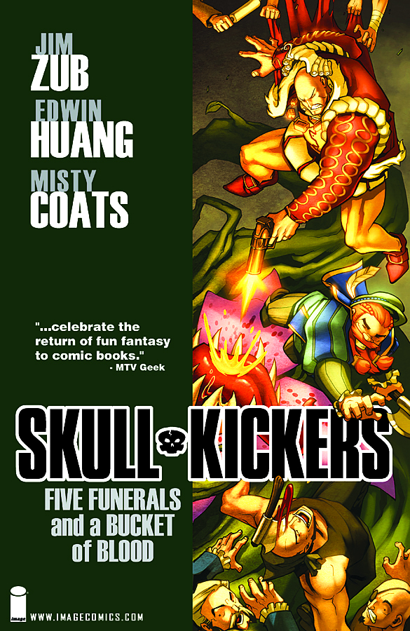 SKULLKICKERS TP VOL 02 FIVE FUNERALS & A BUCKET OF BLOOD