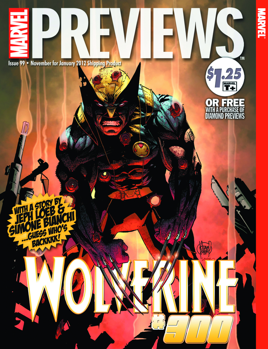 MARVEL PREVIEWS NOVEMBER 2011 EXTRAS