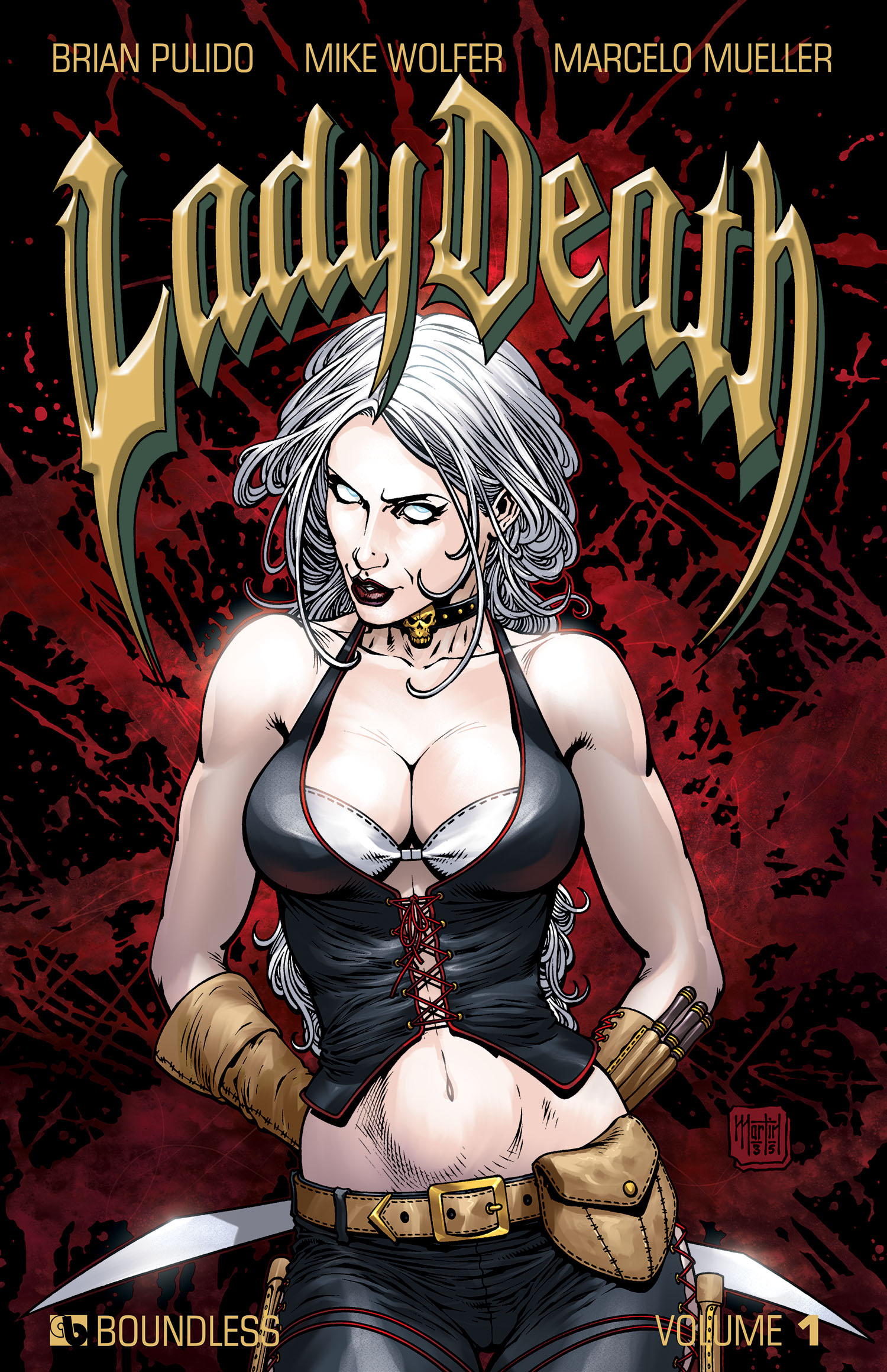 LADY DEATH (ONGOING) HC VOL 01 (MR)
