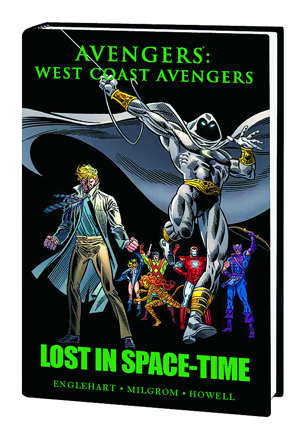 AVENGERS WEST COAST AVENGERS PREM HC LOST IN SPACE TIME