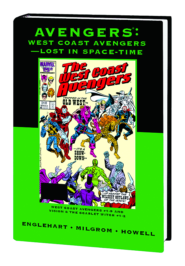 AVENGERS WEST COAST PREM HC LOST IN SPACE TIME DM VAR ED 86