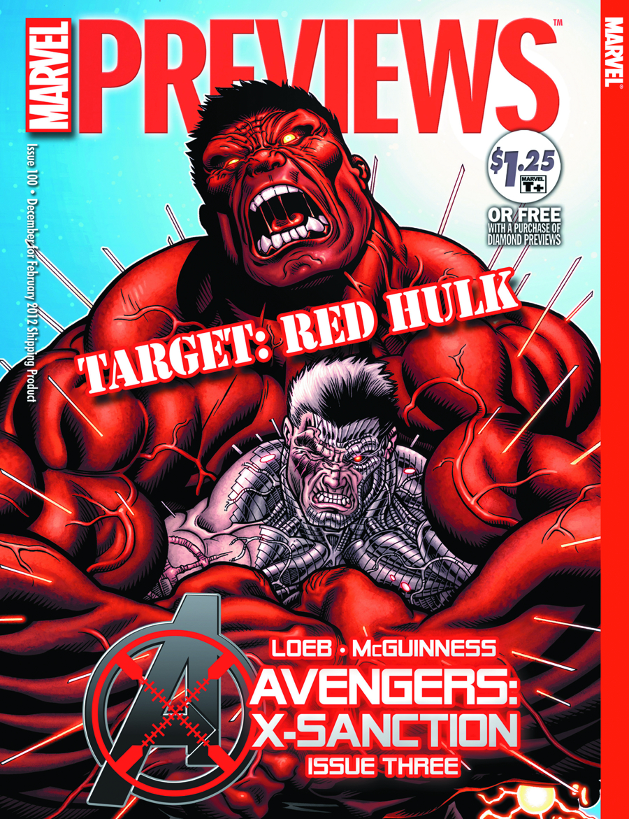 MARVEL PREVIEWS DECEMBER 2011 EXTRAS