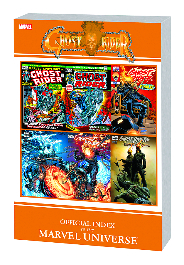 GHOST RIDER OFF INDEX TO MARVEL UNIVERSE GN TP