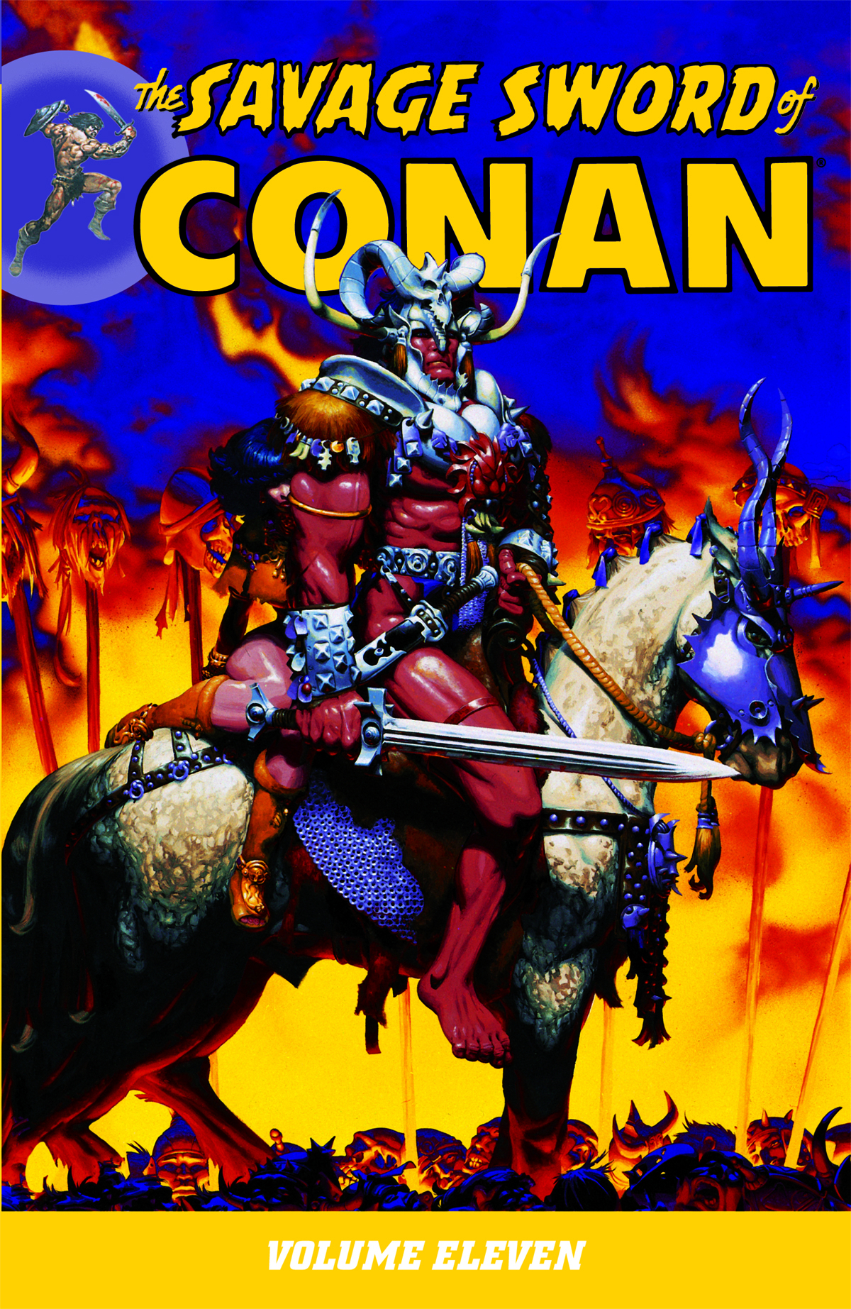 SAVAGE SWORD OF CONAN TP VOL 11