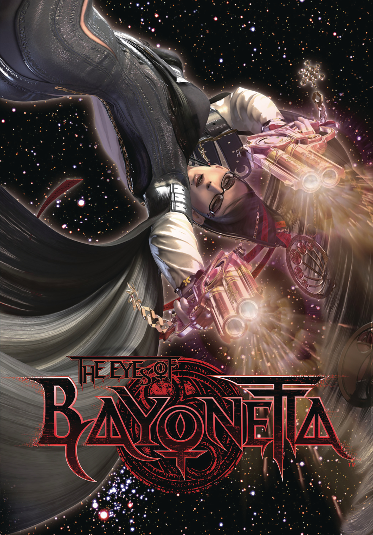 EYES OF BAYONETTA ART BOOK HC WITH DVD