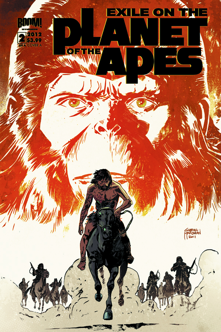 EXILE PLANET O/T APES #2 (OF 4)