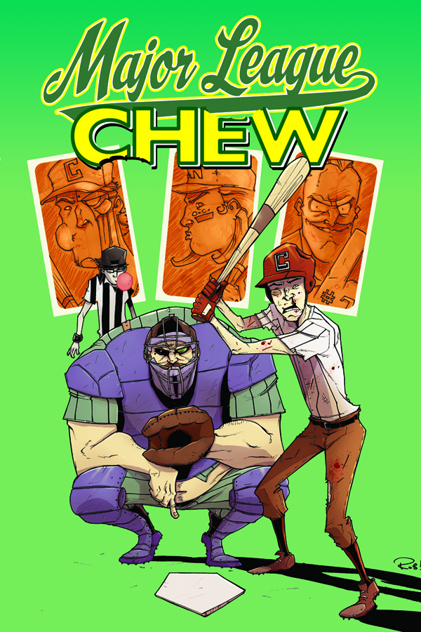 CHEW TP VOL 05 MAJOR LEAGUE CHEW (FEB120425) (MR)
