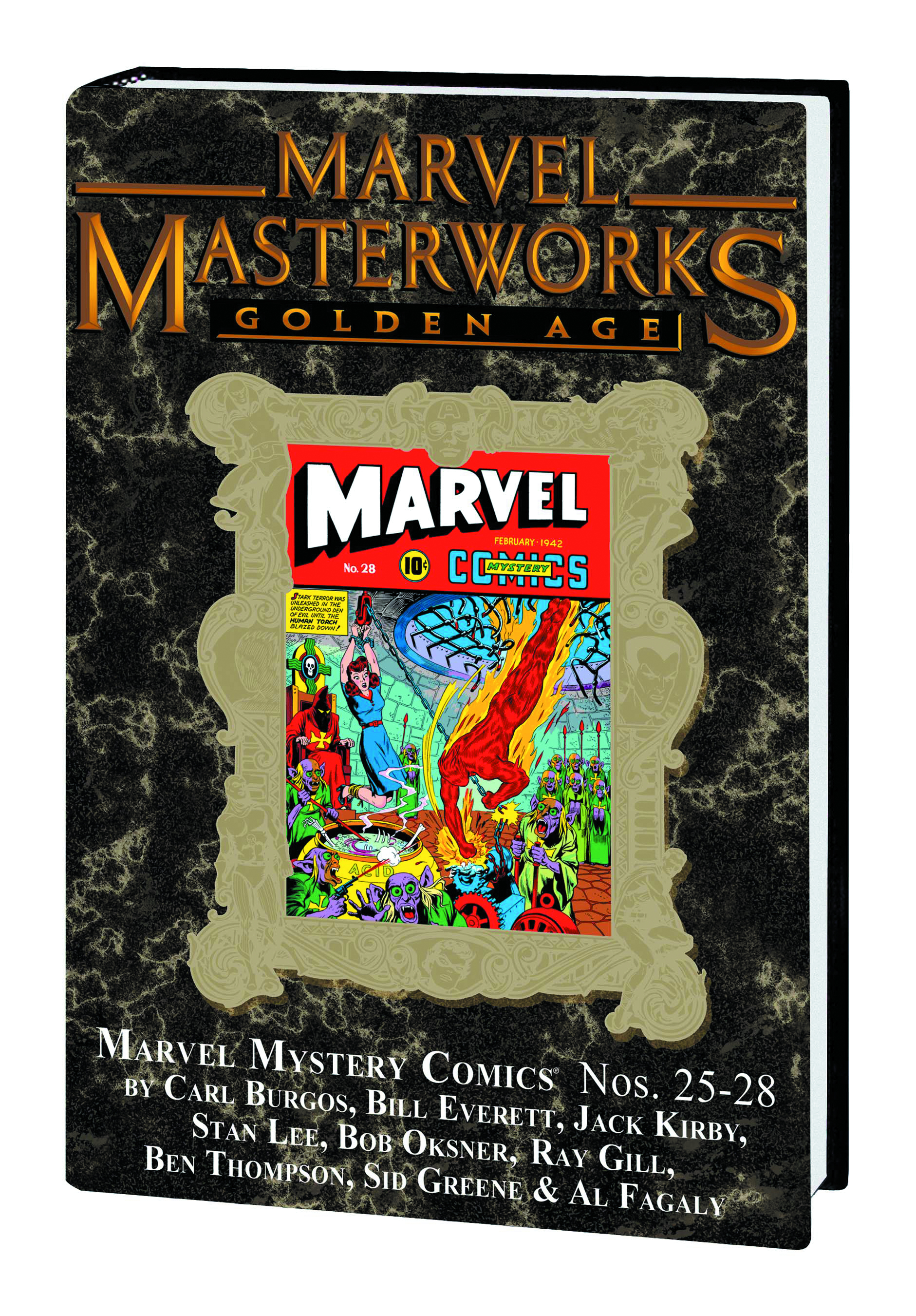 MMW GOLDEN AGE MARVEL COMICS HC VOL 07 DM VAR ED 183