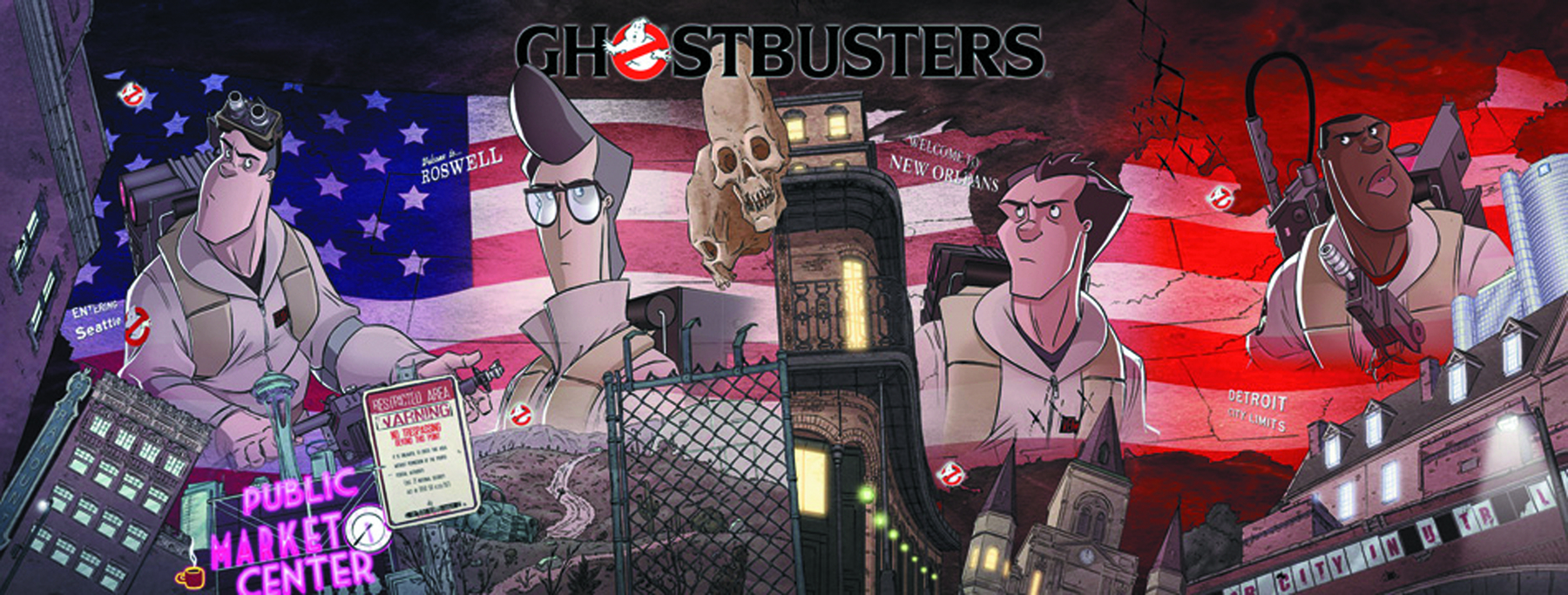 GHOSTBUSTERS ONGOING #9