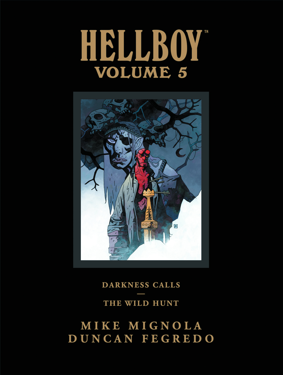 HELLBOY LIBRARY HC VOL 05 DARKNESS CALLS WILD HUNT