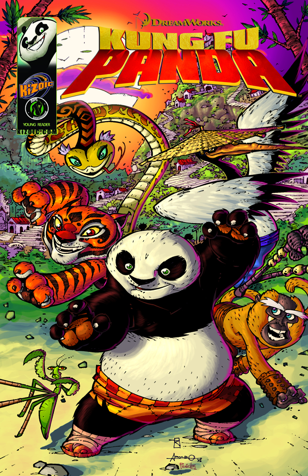KUNG FU PANDA TP VOL 01 EVERYONE IS KUNG FU FIGHTING