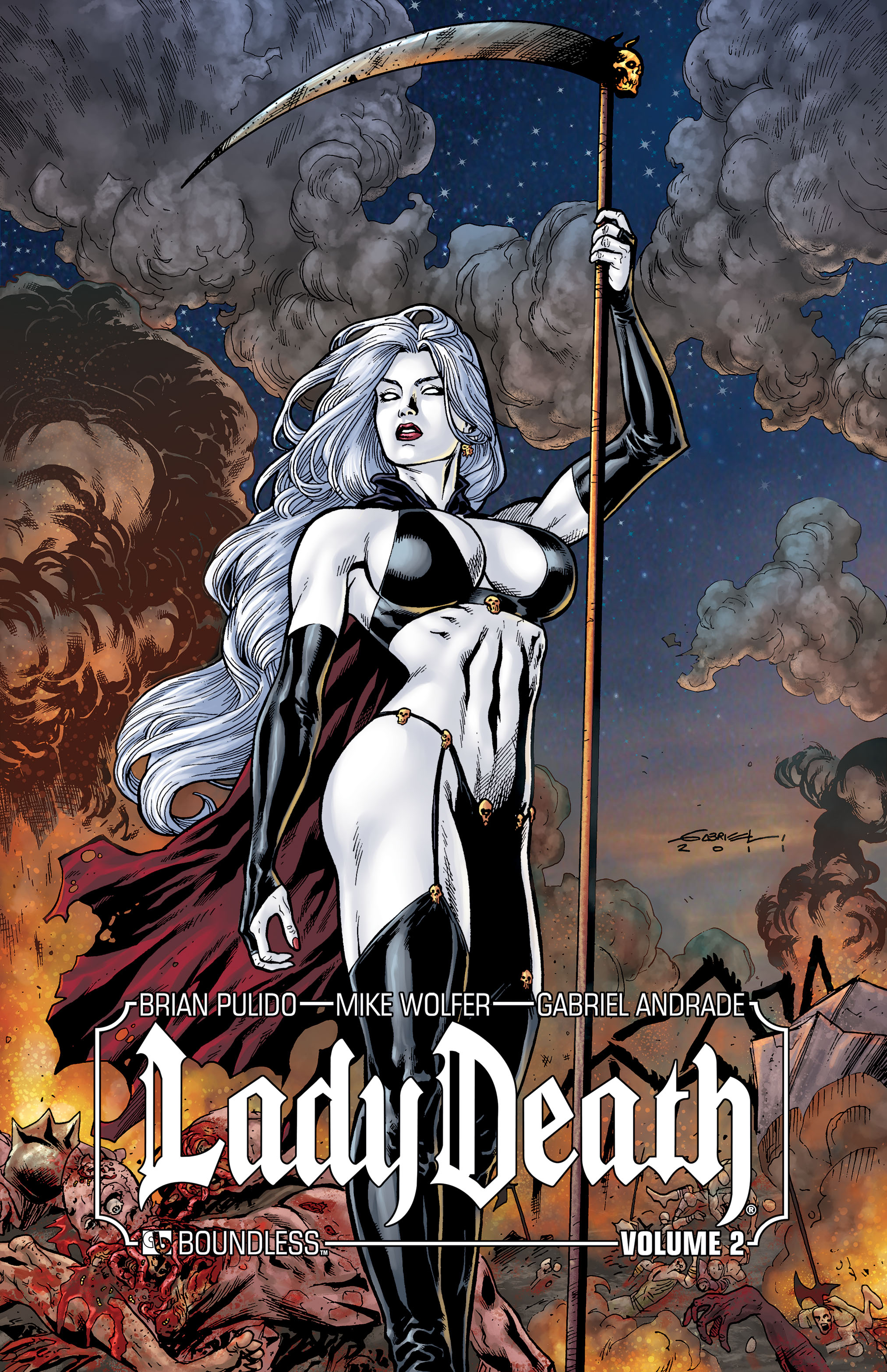 LADY DEATH (ONGOING) HC VOL 02 SIGNED ED (MR)