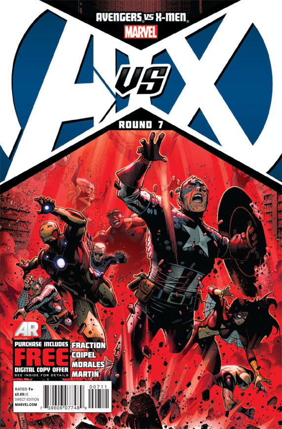 AVENGERS VS X-MEN #7 (OF 12) AVX