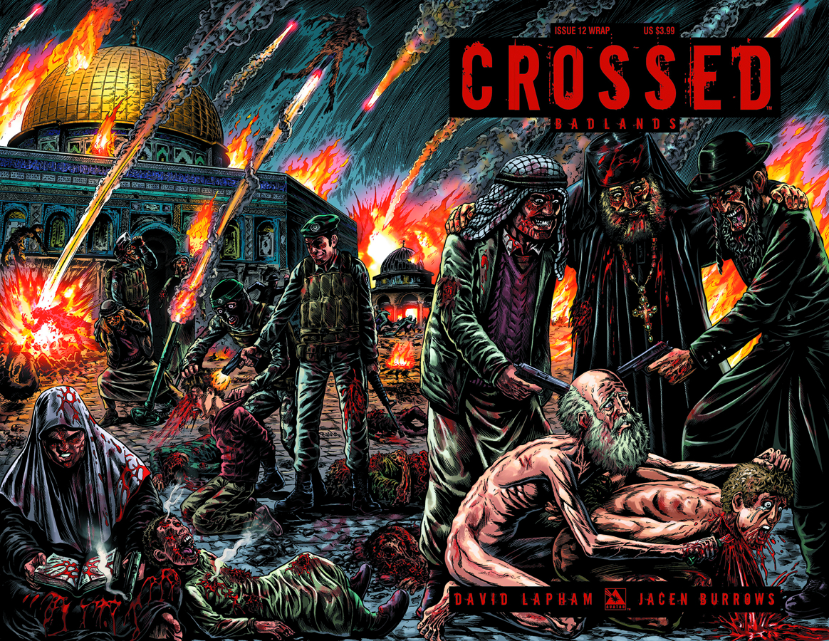 CROSSED BADLANDS #12 WRAP CVR (MR)