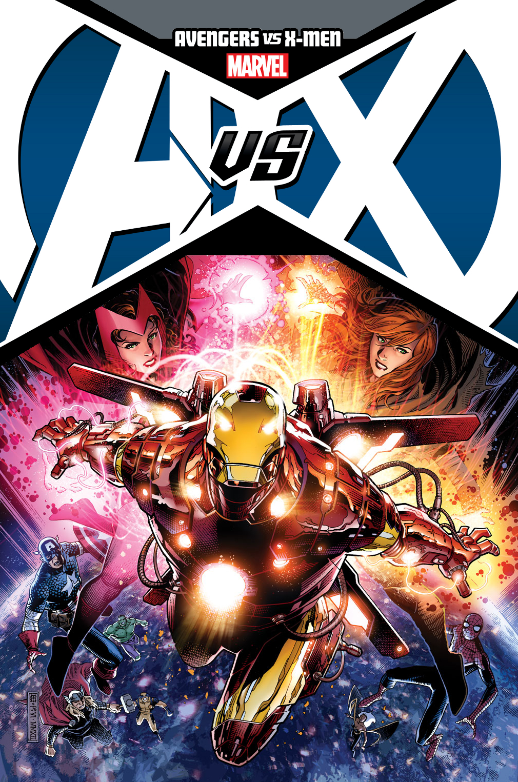 AVENGERS VS X-MEN BY CHEUNG POSTER