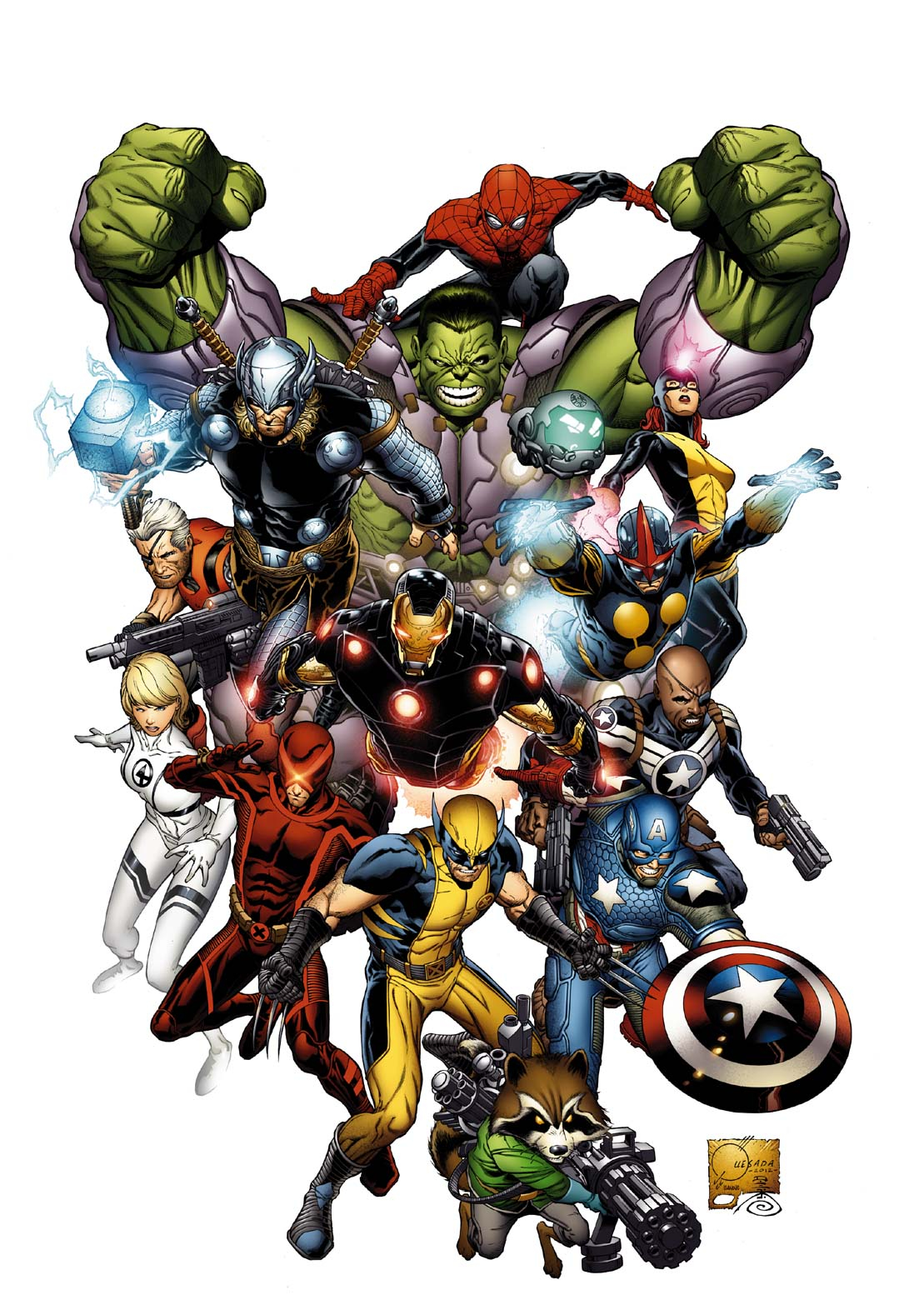 MARVEL NOW BY QUESADA POSTER