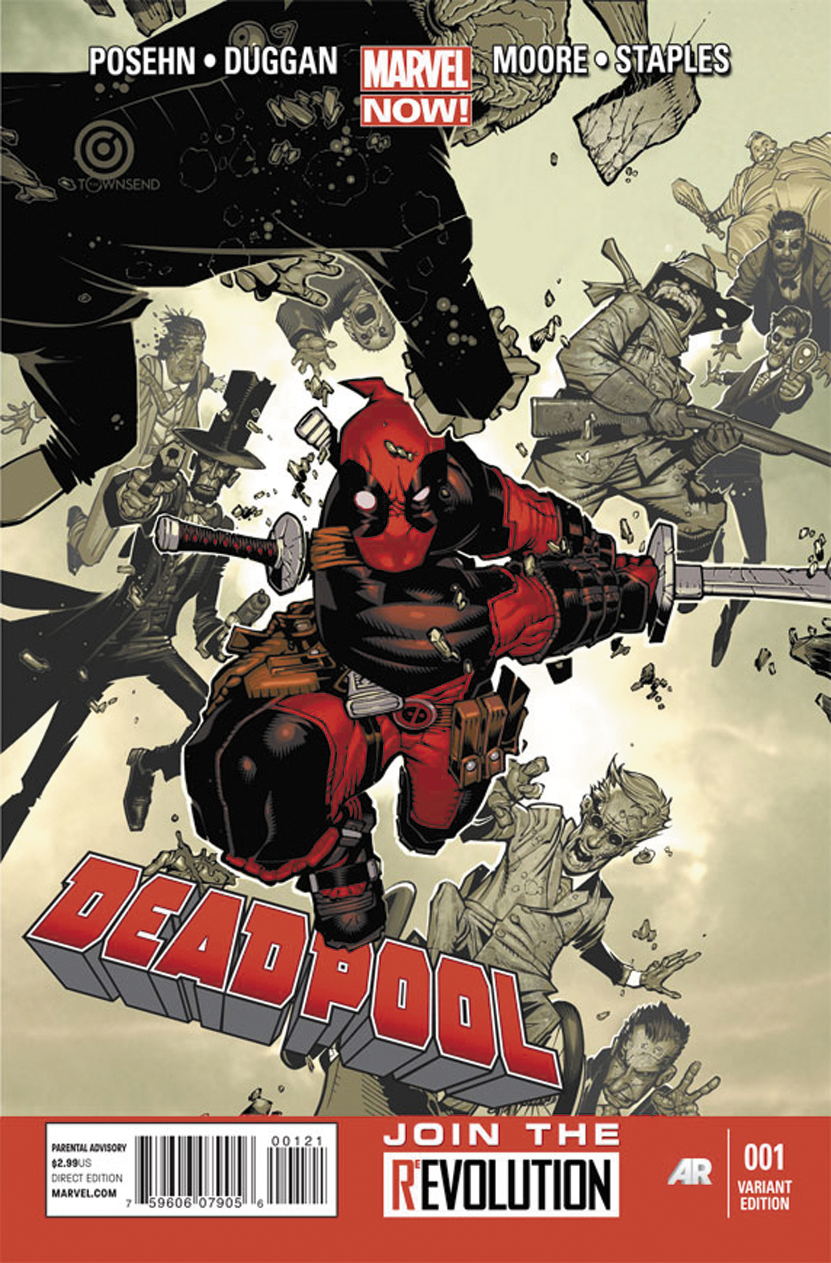 DEADPOOL #2 VAR NOW
