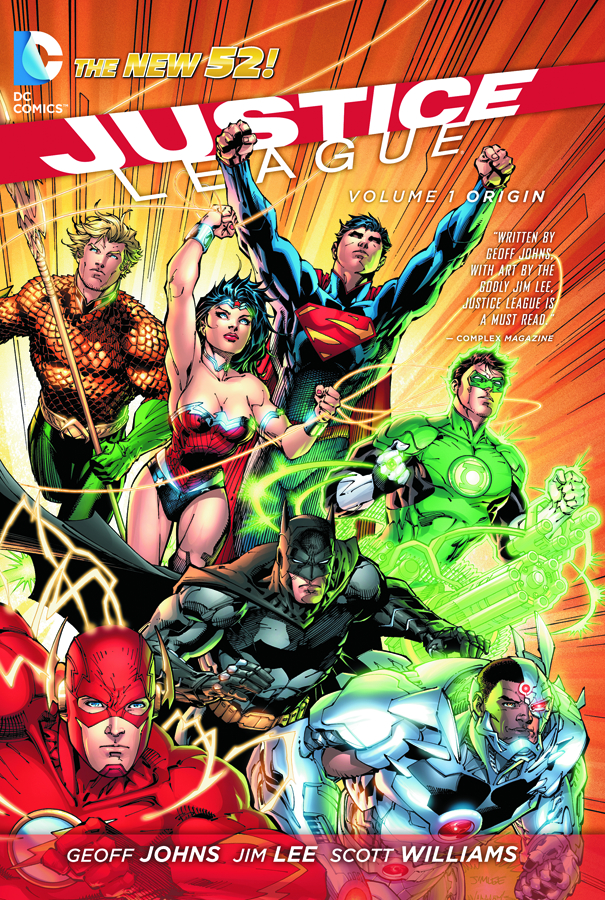 JUSTICE LEAGUE TP VOL 01 ORIGIN (N52)