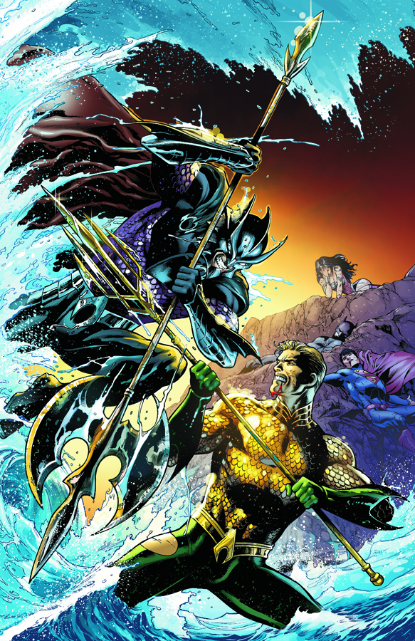 AQUAMAN #15 THRONE OF ATLANTIS VAR ED